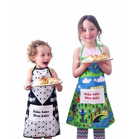 Barnförkläde Mr Pis-Pis broderat