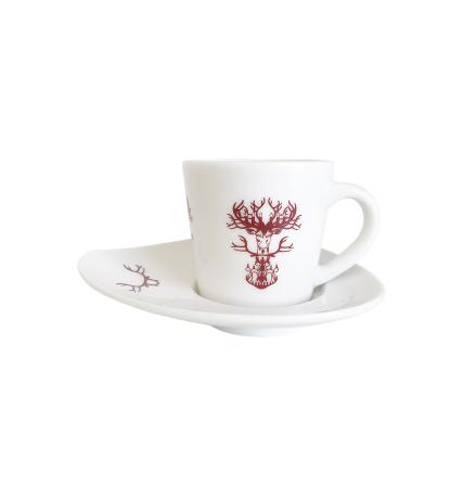 Espresso kop Nordic röd