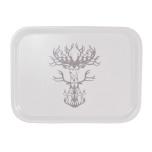 Bricka Nordic silver 27x20 cm