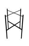 Brickstativ enkel svart 46cm