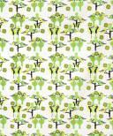Linnetyg - Garden Party grön