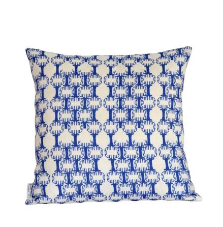 Kuddfodral Nordic blå 48x48 cm