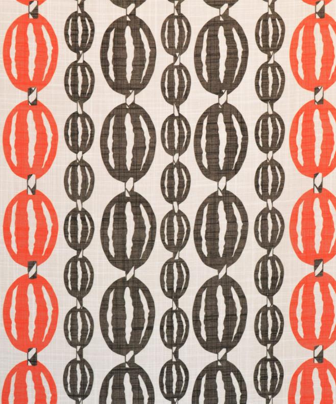 Flamsäkert textil For You orange 100% polyester