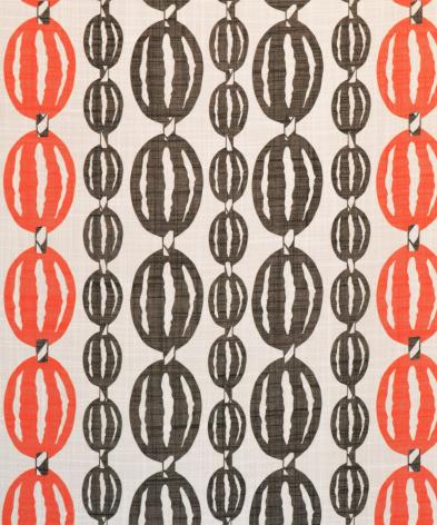 Tyg For You orange 100% polyester CS FR